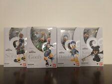 S.H. Figuarts Kingdom Hearts Sora Mickey Donald Goofy New and Sealed
