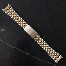 20mm Two Tone Steel Replacement Jubilee Watch Bracelet Made For Rolex Datejust