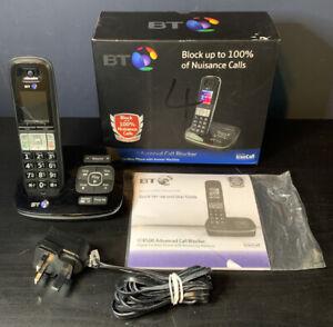 BT8500 Digital Cordless Phone with Answer Machine & Advanced Call Blocker