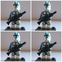 Star Wars 501st Legion Storm Clone Troopers Mini Figures use with lego 1 Jedi