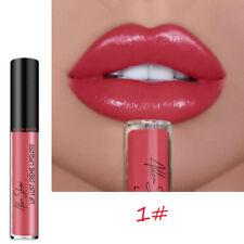Moisturizing Lip Gloss Long Lasting Waterproof Liquid Lipstick Makeup Cosmetics