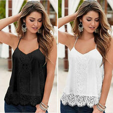 Unbranded Lace Sleeveless Tops & Shirts for Women