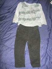 Garanimals 18 Mos 2Pc Outfit Set, Jegging & Gray/Black Snakeskin Knit Top