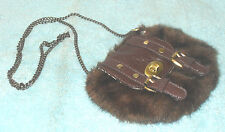GORGEOUS NEXT FAUX FUR / FAKE FUR ACROSS BODY SHOULDER BAG  HANDBAG