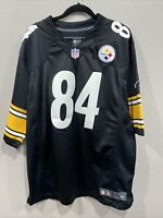 NFL PLAYERS PITTSBURG STEELERS ANTONIO BROWN DOUBLE STICHTED JERSEY XXL