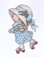 Patch Thermocollant en tissu Petite Fille chapeau Patins Girl & Skate