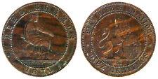10 CENTIMOS 1870 OM PROVISIONAL GOVERNMENT GOVERNO PROVVISORIO SPAIN #5729A