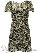 Topshop Floral Polyester Tea Dresses