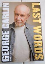 Last Words by George Carlin (2009, Hardcover) humor comedian