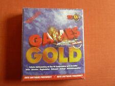 01 PC Spielesammlung-Gold Games-Neu-OVP-Sammlerzustand-15 CD-ROM´s-