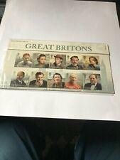 GB 2013 GREAT BRITONS Presentation Pack No.483