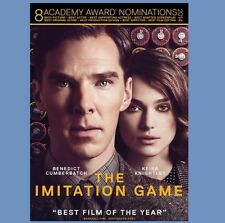 The Imitation Game (DVD, 2015) Movie - WWII British Scientists & German Enigma
