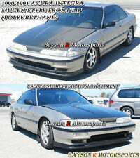 Mu-gen Style Front Lip (Urethane) Fits 90-91 Integra 2/4dr