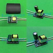 10pcs AC Driver 85V~265V Power Supply 4x1W 5x1W LED Lamp Light GU10 E27 4W 5W