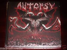 Autopsy: All Tomorrow's Funerals CD 2012 Peaceville Recs CDVILEF365 Digibook NEW