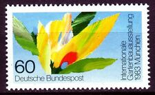 GERMANY federale BRD 1983 Mer 1174 ** GIARDINAGGIO FIORI FLOWERS Flora Garden Show