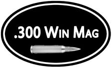 "300 Win Mag Ammo Box Decal 5""x3"" ** 2 PACK **  Can Gun Sticker DC933"