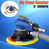 6'' Air Random Orbital Palm Polisher Sander Vacuum Pneumatic Tools 150mm +Wrench