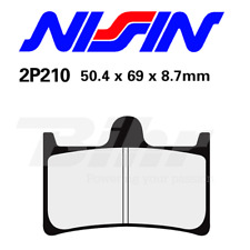 NISSIN PASTIGLIE FRENO ANTERIORE YAMAHA 1700 MIDNIGHT WARRIOR 2006-2009 2P210NS