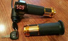 EBike Electric Scooter Throttle LED Digit Meter 24V-48V-60v Li Battery LiFePO4