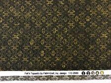 fabri-quilt - 'fall's Tapicería' Verde Mezclador Tejido - 100% cotton- by 0.25m