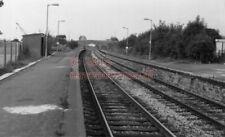 PHOTO  SR PINHOE RAILWAY STATION  VIEW 2 OF THE BASIC STATION 6/9/84 1