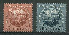 NVPH 542-543 Wereldpostvereniging 1949 postfris (MNH)
