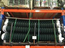 Green Galvanized Steel Mesh Wire Chain-link Fence PVC Coating 2.1m*10m Fencing