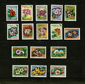 DF464 UPPER VOLTA 1963 Flowers  MH