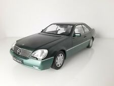 KK Scale. 1/18 . Mercedes 600 SEC (C140) Verde