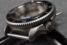 THE-S.COIN.90.ONE COLD.STEEL  CUSTOM BEZEL F.SEIKO SKX007 7S26-020O DX.S-20-CS