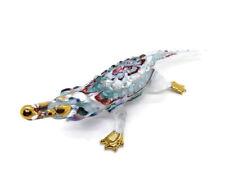 Alligators Crocodile Blown Glass Art Reptiles Animal Figurine Decor gift