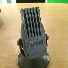 TANNOY speaker Monitor Tannoy Ribbon Microphone Old Vintage Mic 1950's ribbon
