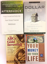 Lot Of 4 Investing Books Money Managing; State of the Economy