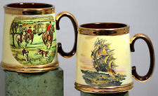 Pair Of Tankards Beer Steins Mugs Gibsons Of Staffordshire