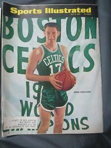 1966 SPORTS ILLUSTRATED MAGAZINE NBA BASKETBALL BOSTON CELTICS JOHN HAVLICEK