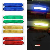 2x Safety Mark Reflective Strips Car Door Sticker Warning Tape Decal Accessories