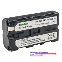 Kastar Battery Super Fast Charger for Sony NP-F550 Sony MVC-FD5 MVC-FD51 MVC-FD7