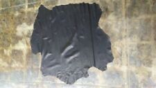 Italian Lambskin Top quality Lambskin leather Black soft 7 sq.ft, 2 ounces.