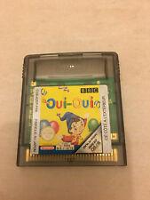 Cartouche Seule Oui-Oui Nintendo Game Boy color