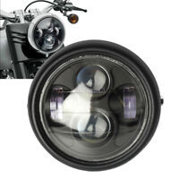 6.5''45W Moto Phare Projecteur Hi/Lo LED Lamp Headlight DRL Pour Harley-Davidson