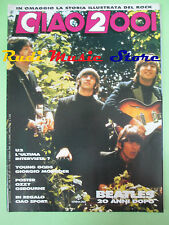 rivista CIAO 2001 6/1990 POSTER Ozzy Osbourne Beatles Young Gods U2 Cramps No cd
