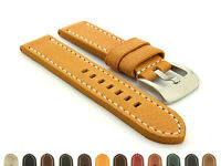 Men's Two-Piece Genuine Leather Watch Strap Band 20 22 24 26 Marina MM