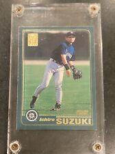 🔥 2001 Ichiro Suzuki RC Topps #726 Rookie Card Seattle Mariners HOF