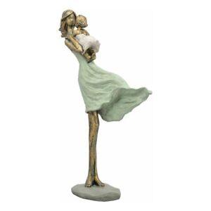 Figur/Mutter/Tochter/Skulptur/Muttertag/Geschenkidee/stehend/Geschenk/Liebe