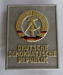 Original GRENZSCILD Staatswappen der DDR Zone Zonengrenze NVA Ostalgie