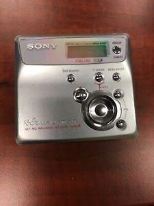 Sony MZ-N505 Minidisc Player Walkman - Working