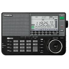 Sangean ATS-909X FM-RBDS AM FM / LW / SW World Band Receiver Radio in Black New