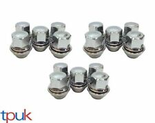 BRAND NEW FORD TRANSIT CONNECT WHEEL NUT NUTS SET OF 15 SOLID CHROME TOP QUALITY