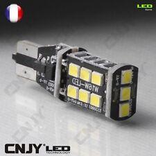 2 AMPOULES POUR CLIGNOTANT LED T15 W16W AUDI A1 ANTI-ERREUR ODB ORANGE